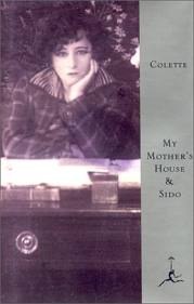 "Cover of Colette's ""My Mother's House"""