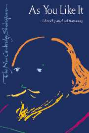 As You Like It - The New Cambridge Shakespeare book cover