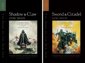 The Book of the New Sun by Gene Wolfe - book covers