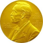 image of the nobel prize medal