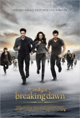 Breaking Dawn Part 2 Twilight Saga movie poster