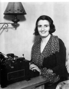 ayn rand smiling
