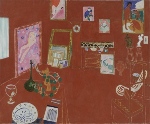 """The Red Studio"" by Matisse from the Museum of Modern Art, New York City"