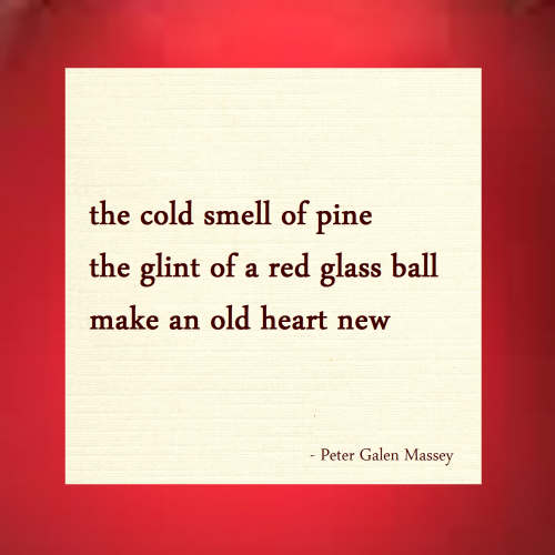 cold smell pine haiku massey