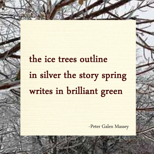 Haiku 21 Ice Trees