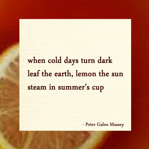 Haiku Leaf The Earth Lemon The Sun Massey
