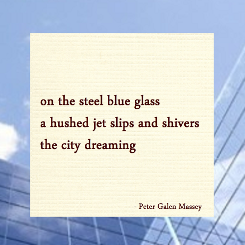 The City Dreaming Haiku Peter Galen Massey