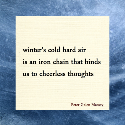 Haiku 26 Cold Hard Air