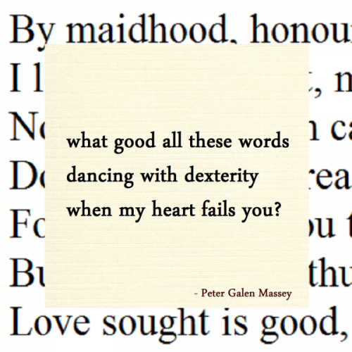 What Good These Words Haiku Peter Massey