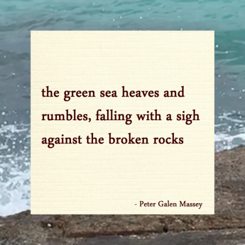 The Green Sea Rumbles - Jamaica Haiku Peter Massey