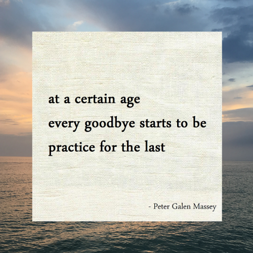 Haiku Peter Galen Massey Practice for the Last