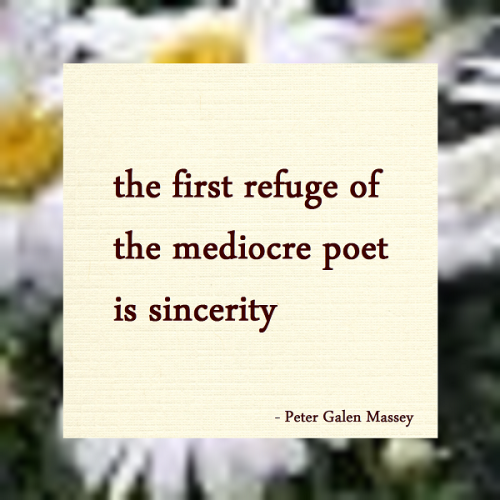Haiku Peter Galen Massey The First Refuge of Mediocrity