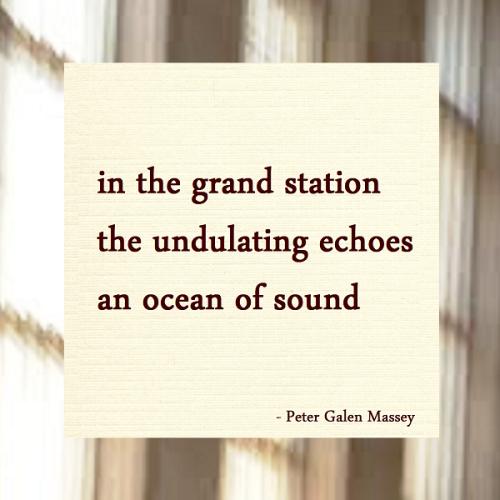Haiku Peter Galen Massey An Ocean of Sound