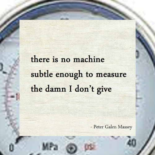 Haiku Peter Galen Massey No Machine Subtle Enough