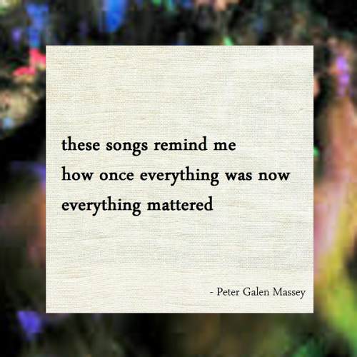 Haiku Peter Galen Massey Everything Was Now