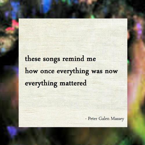 Haiku Peter Galen Massey Everything Was Now