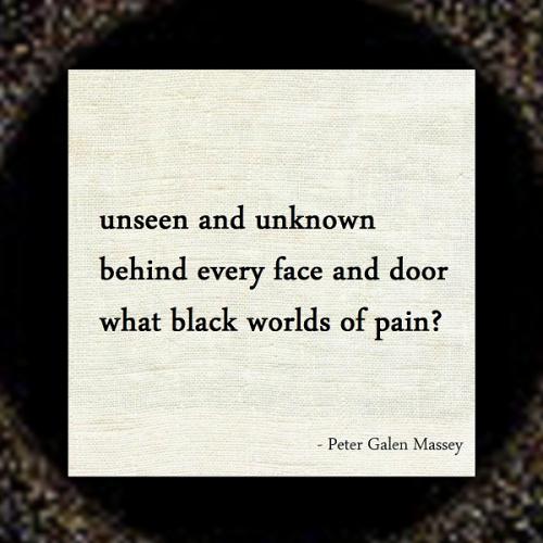 Peter Massey 110 Black Worlds of Pain