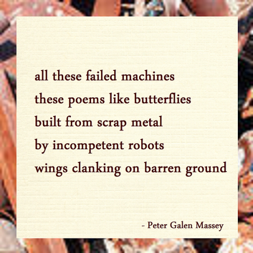 Tanka 132 Peter Massey Butterflies Built From Scrap Metal