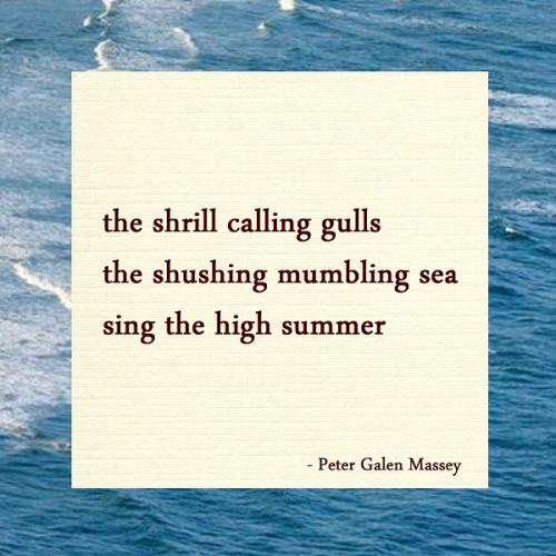 Haiku Peter Galen Massey Sing The High Summer