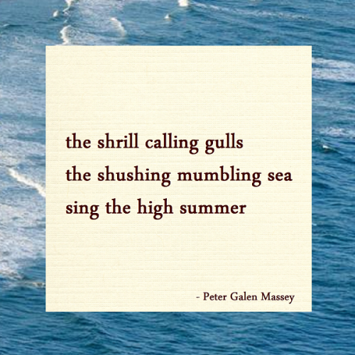 Haiku Peter Galen Massey Sing The High Summer