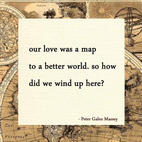 Peter Galen Massey Haiku Love Map World