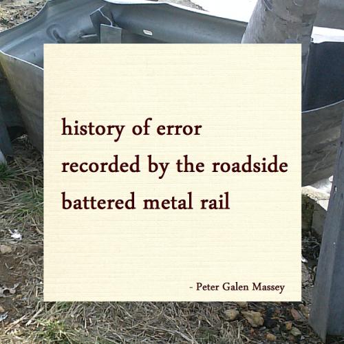 Peter Galen Massey Haiku History of Error