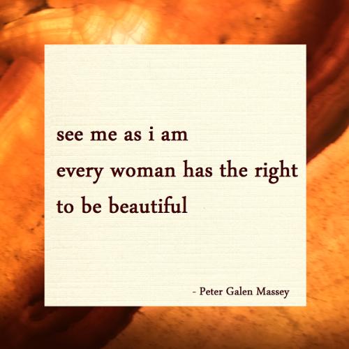 Peter Galen Massey Haiku See Me As I Am