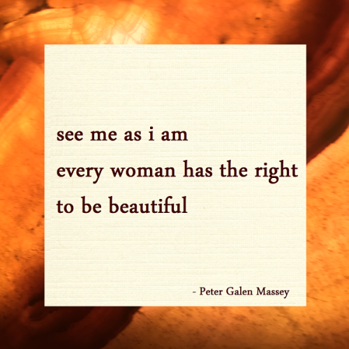 Peter Galen Massey Haiku See Me As I Am