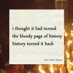 Haiku Peter Galen Massey History Turned It Back